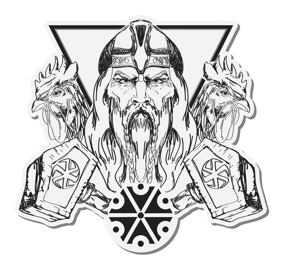 славянские тату обереги богов