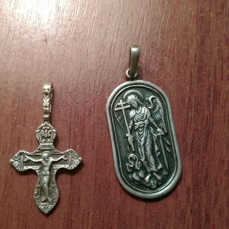 Крест и Ладанка